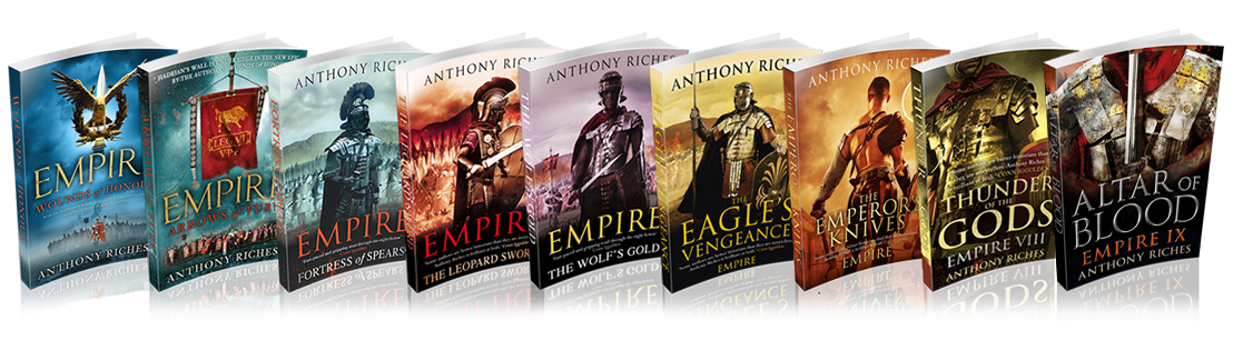 The Empire Series by Anthony Riches